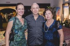 Juliana Moura, Paulo César e Francilda Ribeiro