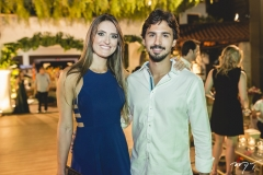 Marcela Goulart e Lucas Rolim
