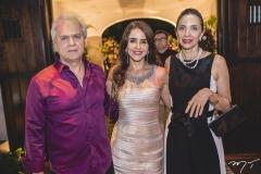 Ricardo Rolim, Denise Rolim e Clara Bezerra