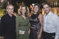Sérgio Resende, Emília Buarque, Nara e Raul Amaral