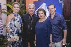Ticiana, Pio, Edyr e André Rolim