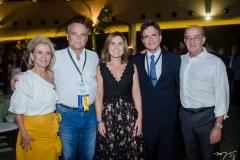 Ana Mota, Eduardo Cunha, Gyna Machado, André Jucá e Mário Mota