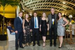 André Jucá, Gyna Machado, Magno, Raquel Ferreira, Raimundo Almeida e Thais Mendes