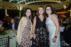 Elane Castro, Gyna Machado e Lilian Muralha