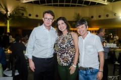 João Guilherme, Rochelle Pagani e Maurício Celino