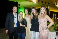 Jorge Rocha, Bárbara Ribeiro, Carolina Reis, Jessika Bacelar e Juliana Ávila