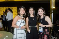 Tatiana Tanaka, Thais Pereira e Ana Claudia Suzuki