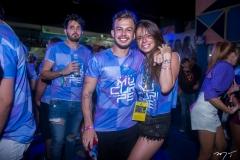 Caio Oliveira e Lina Frank