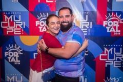 Patrícia Macêdo e Luiz Victor Torres