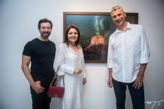 Carlos Otávio, Ingrid Barreira e Eder Chiodetto