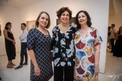 Cibele Hissa, Salete e Ana Maria Jereissati