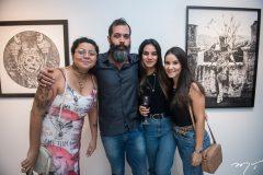 Elaine Rocha, Célia Celestino, Myrla Amorim e Beatriz Melo