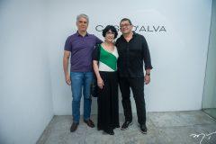 Leandro Leal, Denise Mattar e José Guedes