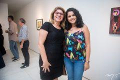 Lindalva Marques e Elaine Pereira