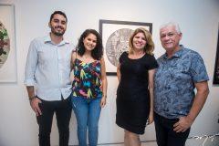 Lucas Maia, Elaine Pereira, Lindalva Marques e Júlio Maciel
