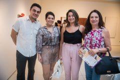 Rafael Gomes, Cecília Chaves, Celisa Chaves e Ana Figueiredo