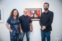 Rosana e Rogério Queiroz e Alex Costa