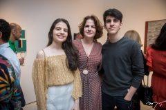 Sophia, Andiara e Pedro Ary