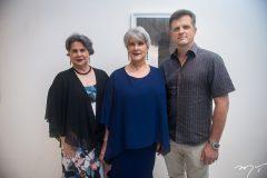 Suzana Melo, Cláudia e Jorge Otoch