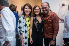 Tania Vasconcelos, Adriana Helena e Marcus Novais
