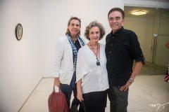 Vania Franck, Guiomar Marinho e Marcos Monteiro