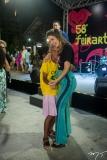 Onélia Santana na abertura da 58ª Feirart