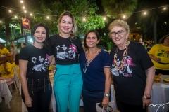 Partícia Liebmann, Onélia Santana, Diva Mercedes e Socorro França