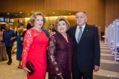 Auxiliadora Paes Mendonça, Consuelo Dias Branco e João Carlos Paes Mendonça (1)