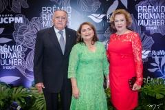 João Carlos Paes Mendonça, Maria Vital e Auxiliadora Paes Mendonça (1)