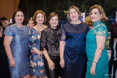 Verônica Silva, Sarah Virgínia, Ana Maria Studart, Fátima Inês e Ana Fiúza (1)