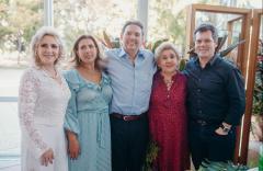 Graça da Escóssia, Regina Dias Branco, Ivens Júnior, Consuelo e Cláudio Dias Branco