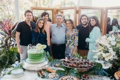 Ivens Neto, Raissa Ciriaco, Luca, Ivens Júnior e Luciano Dias Branco e Maria Costa