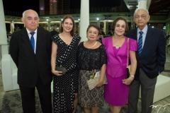 Aveline Dutra, Rocai e Amelia Coelha Suelly e Leorni Belem