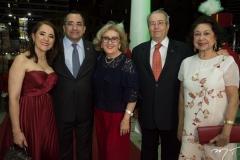 Fatima e Jardson Cruz, Socorro França, Meton e Yolanda Vasconcelos