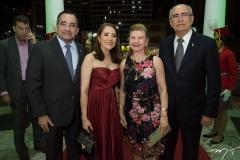 Jardson e Fatima Cruz e Célia e Bosco Macedo