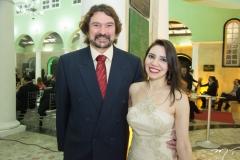 Leo e Karine Holanda