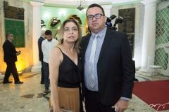 Mauricelia Freitas e Delmo Sindor