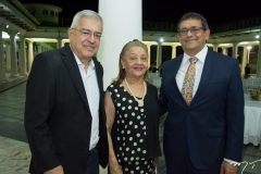 Paulo Cesar Norões, Perpetua Pinto e José Guedes