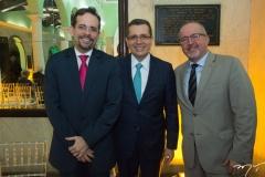 Sergio Martins, Gledson Mota e Tarciano Barros