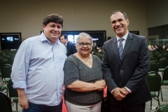 George Lima, Gloria Ribeiro e Eduardo Neves