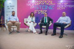 David de Siqueira, Márcia Travessoni, Carlos Rubens e Flávio Gomes