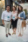 Enio Mesquita, Ana Eliza e Brenda Rolim