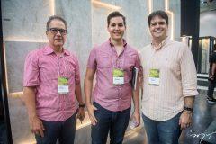 Luiz Eduardo, Yure Luna e Wilson Aragão