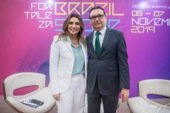 Márcia Travessoni e Carlos Rubens
