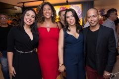 Luana Bastos, Luciana Castro, Amanda Lopes E Assis Filho