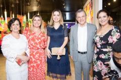 Neuma Figueiredo, Cris Cavalcante, Onélia Santana, José Sarto e Patricia Macêdo