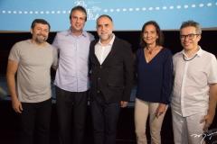 Lúcio Batista, Camilo Santana, Karim Aïnouz, Izolda Cela e Fabiano Piúba