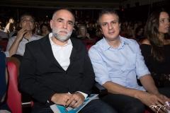 Karim Aïnouz e Camilo Santana