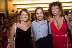 Mariana Coelho, Felipe Lopes e Talita Arruda