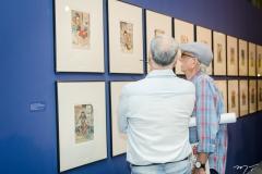 Abertura das exposições J. Borges e Ukiyoe (85)